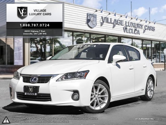 2013 LEXUS CT 200H NEW TIRES   REAR CAMERA   NAVIGATION   LEATHER   CLEAN CARPROOF in Markham, Ontario
