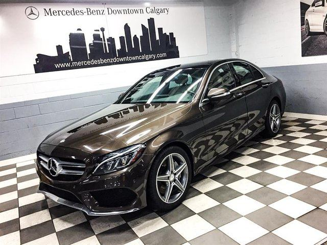 2015 MERCEDES-BENZ C-Class C400 4MATIC Climate Seats Active Premium+ in Calgary, Alberta