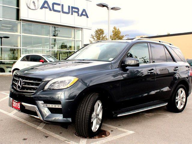 2015 MERCEDES-BENZ M-CLASS BlueTEC 4MATIC in Langley, British Columbia