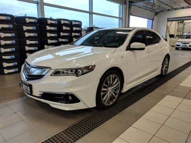 2016 ACURA TLX AWD Elite A-Spec - LOADED - cooled seats - nav! in Thunder Bay, Ontario