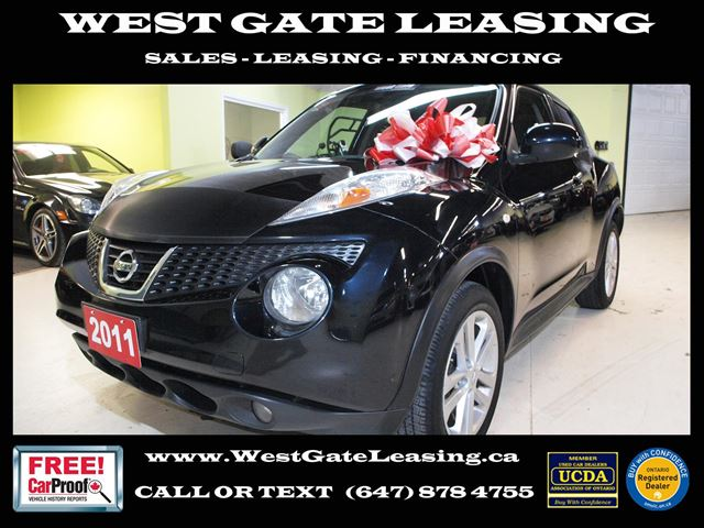 2011 NISSAN Juke SL  BLUETOOTH  REAR VIEW CAMERA  in Vaughan, Ontario