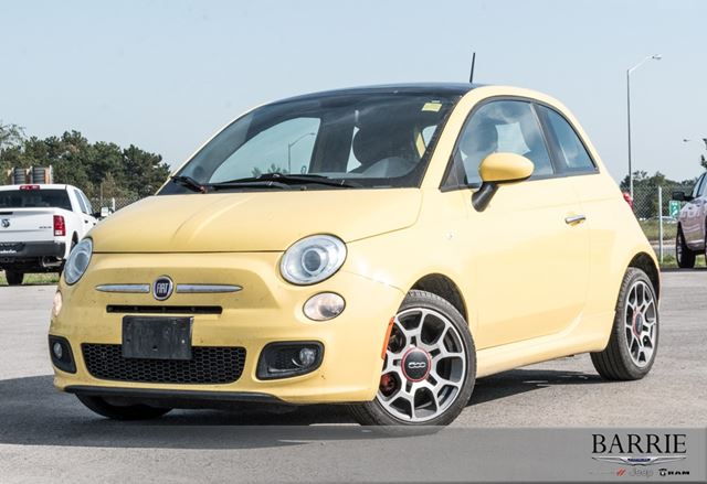 2012 FIAT 500 SPORT***CLEAN CARPROOF*** in Barrie, Ontario