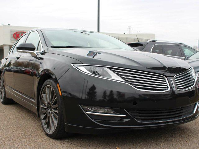 2015 LINCOLN MKZ SUNROOF, FRONT / REAR HEATED SEATS, COOLED FRONT SEATS, HEATED WHEEL, BACKUP CAM, NAVI, CRUISE CONTROL, BLUETOOTH, USB / AUX in Edmonton, Alberta
