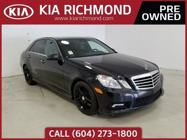 2011 MERCEDES-BENZ E-CLASS E 550 in Richmond, British Columbia