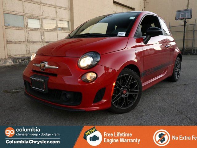 2014 FIAT 500 ABARTH, NO ACCIDENTS, LOCALLY DRIVEN, GREAT CONDITION, NO HIDDEN FEES. FREE LIFETIME ENGINE WARRANTY! in Richmond, British Columbia