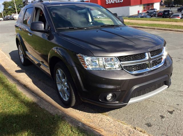 2017 DODGE JOURNEY GT/LEATHER/ALL WHEEL DRIVE/DVD/SAVE $10,000!! in Dartmouth, Nova Scotia
