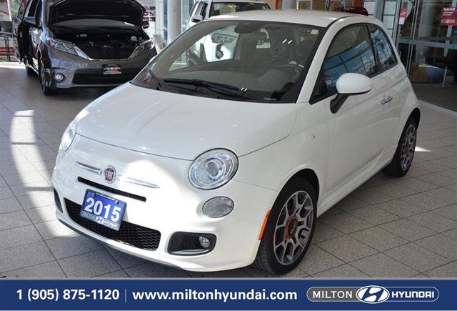 2015 FIAT 500 Sport Sport | BLUETOOTH | LEATHER | A/C in Milton, Ontario