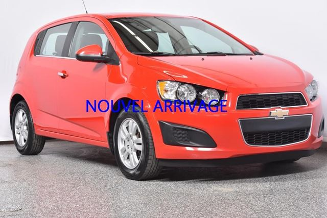 2014 chevrolet sonic lt drummondville quebec car for. Black Bedroom Furniture Sets. Home Design Ideas