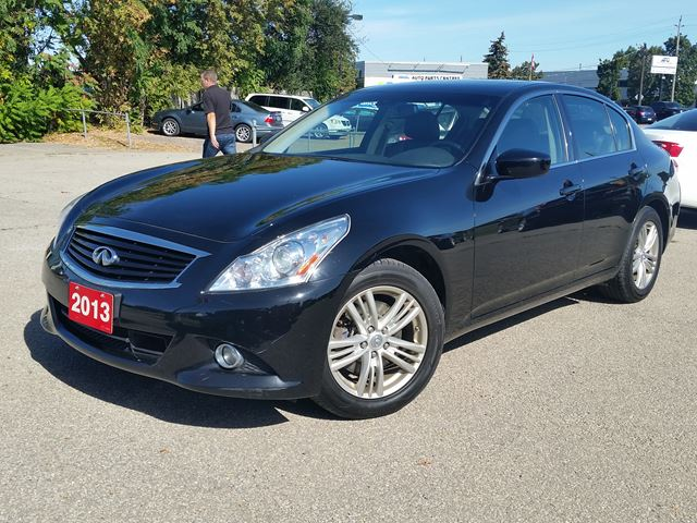 2013 INFINITI G37 x Luxury AWD in Beamsville, Ontario