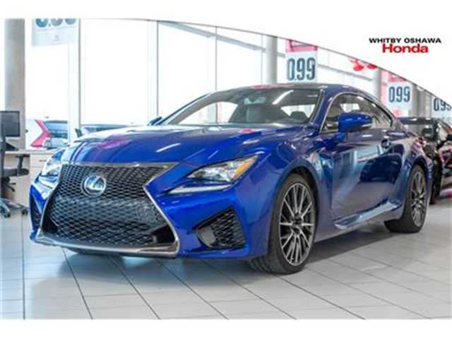 2016 LEXUS RC F Performance Package in Whitby, Ontario