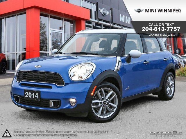 2014 MINI COOPER Countryman S Premium, Style & Lights Packages! in Winnipeg, Manitoba