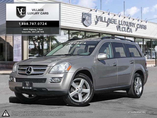 2009 MERCEDES-BENZ GL-CLASS MERCEDES SERVICE HISTORY   LOW MILEAGE    in Markham, Ontario