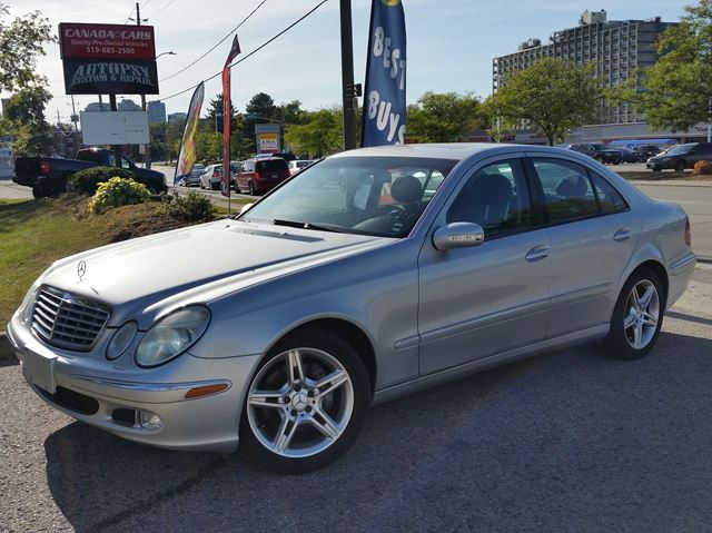 2004 MERCEDES-BENZ E-CLASS 5.0 liter V8 in Waterloo, Ontario