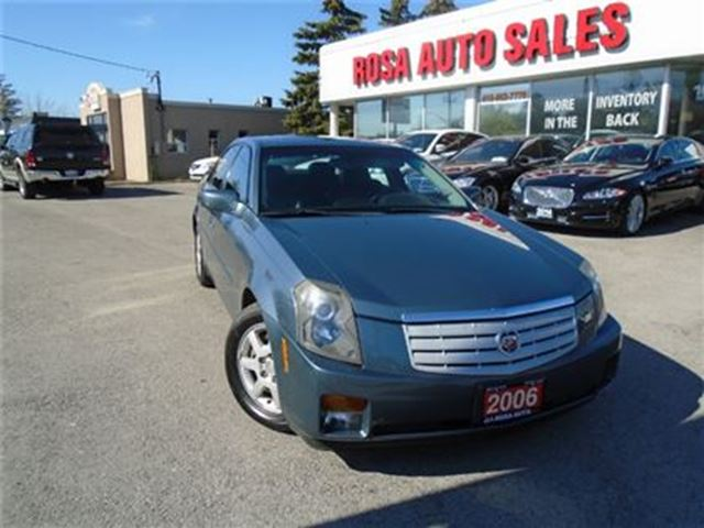 2006 CADILLAC CTS 4dr Sdn 2.8L HEATED LEATHER SEATS SUNROOF NO ACCID in Oakville, Ontario