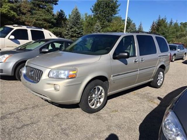 2007 BUICK TERRAZA CX / - CERTIFY YOURSELF $ SAVE $$$$$ in Fonthill, Ontario