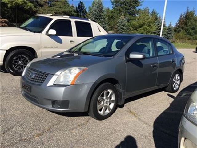 2007 NISSAN SENTRA S/ - CERTIFY YOURSELF $ SAVE $$$$$ in Fonthill, Ontario