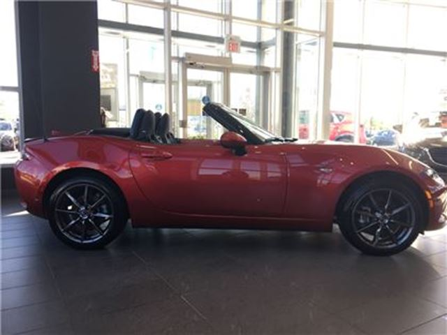 2017 MAZDA MX-5 Miata  GT,Navi,Leather,BOSE,Manual,LOADED in Vaughan, Ontario