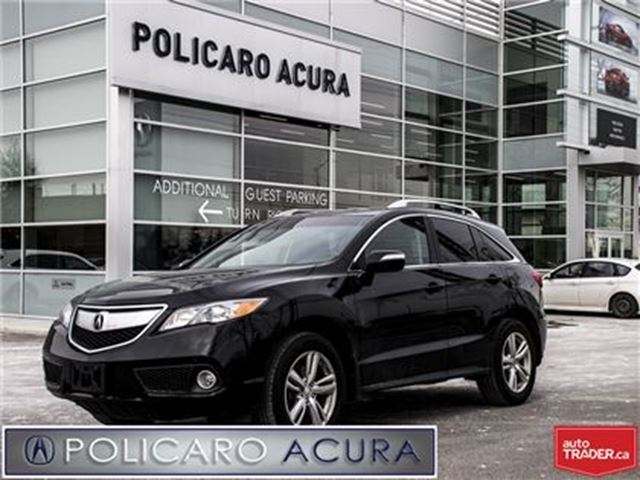 2015 ACURA RDX at One Owner, Leather Interior, Sunroof, Factory W in Brampton, Ontario