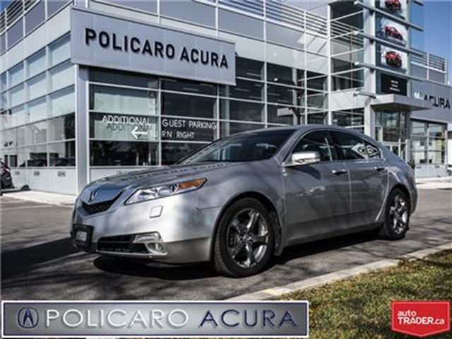 2009 ACURA TL AWD 5sp at All-Wheel Drive, One Owner, Leather Int in Brampton, Ontario