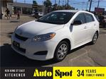 2012 Toyota Matrix LOW, LOW KMS/ PRICED FOR A QUICK SALE! in Kitchener, Ontario