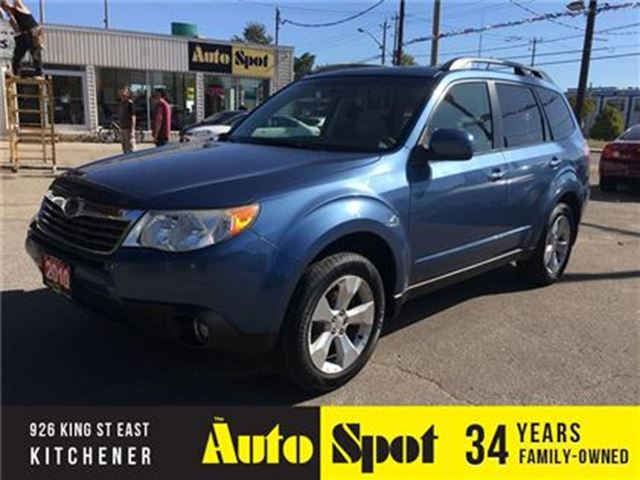2010 SUBARU FORESTER X Touring/STD/PRICED FOR A QUICK SALE ! in Kitchener, Ontario