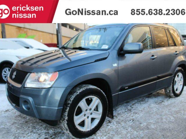 2007 SUZUKI GRAND VITARA JX: ***$87 BI-WEEKLY*** LEATHER, 4X4, SUNROOF!! in Edmonton, Alberta