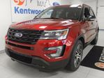 2016 Ford Explorer Sport4WD ecoboost with NAV, dual moonroof, heated/cooled leather seats and keyless entry in Edmonton, Alberta