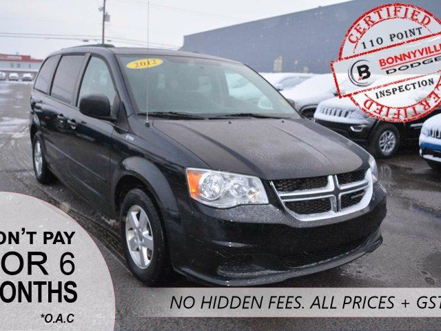 2012 Dodge Grand Caravan SE/SXT, REMOTE START, REAR DVD in Bonnyville, Alberta