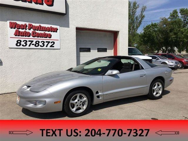 2002 PONTIAC FIREBIRD Formula **T-TOPS** in Winnipeg, Manitoba