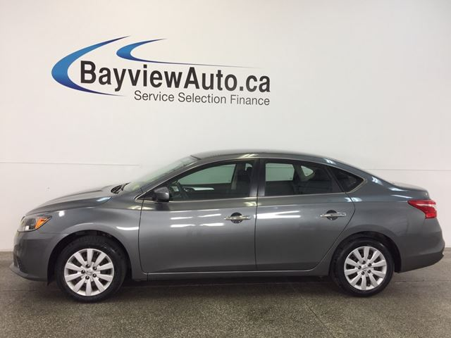 2016 NISSAN SENTRA S- AUTO! 1.8L! SPORT MODE! A/C! BLUETOOTH! CRUISE! in Belleville, Ontario