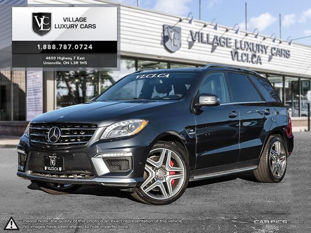 2015 MERCEDES-BENZ M-CLASS NEW BRAKES   PERFORMANCE PACKAGE   NEW CAR TRADE IN  in Markham, Ontario