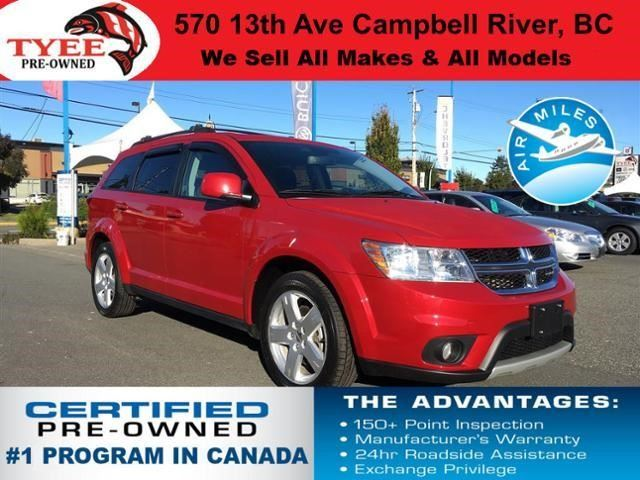 2012 DODGE JOURNEY SXT in Campbell River, British Columbia