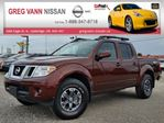 2017 Nissan Frontier PRO-4X 4WD w/all leather,NAV,rear cam,power group,rear assist,tonneau cover & bedliner in Cambridge, Ontario