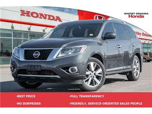 2013 NISSAN PATHFINDER Platinum in Whitby, Ontario