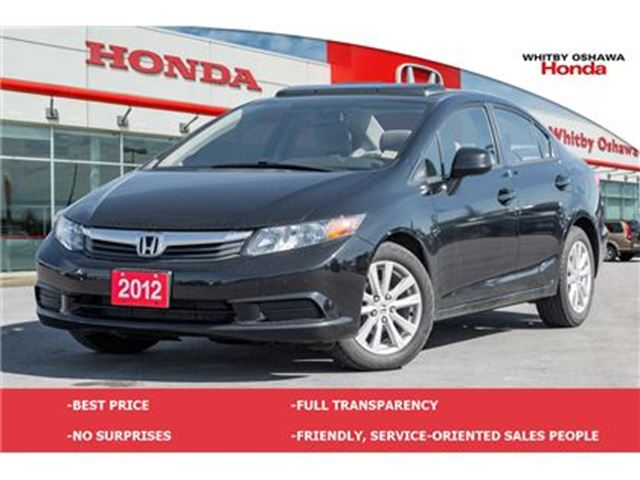 2012 HONDA Civic EX (A5) in Whitby, Ontario