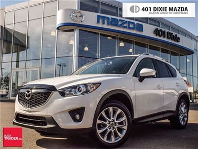 2015 MAZDA CX-5 GT, NAVIGATION, LEATHER, REAR CAM in Mississauga, Ontario