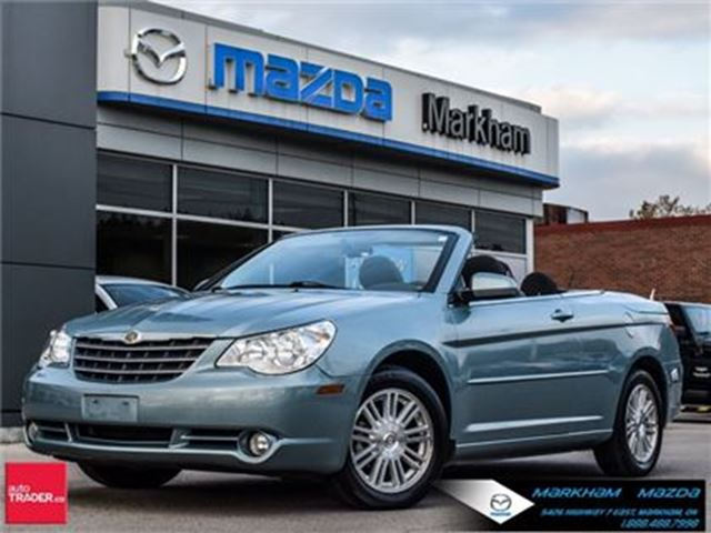 2009 CHRYSLER SEBRING Touring ACCIDENT FREE SUPER LOW MILEAGE !!!! in Markham, Ontario