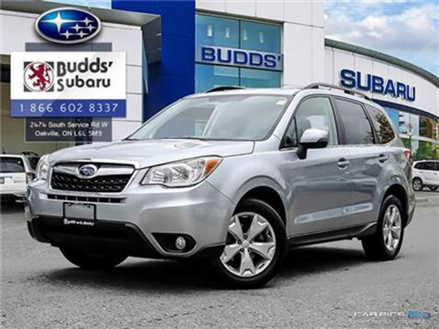 2014 SUBARU FORESTER 2.5i Limited at - AWD, Nav, Leather in Oakville, Ontario