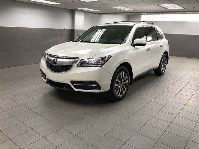 2015 ACURA MDX Navigation Package SH-AWD in Calgary, Alberta