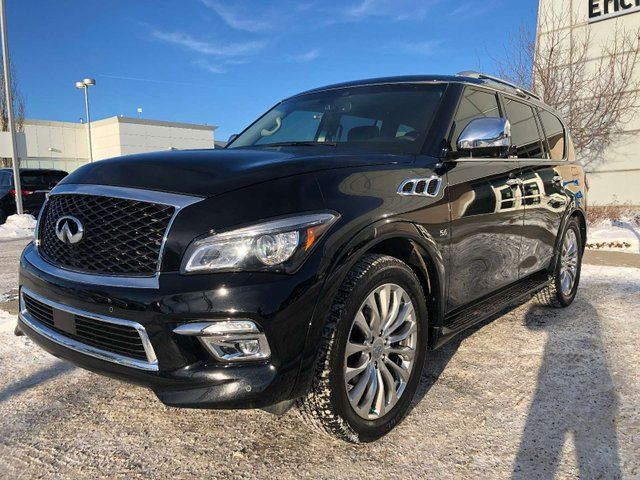 2017 INFINITI QX80 Technology, Black out Edition 7 Passenger 4dr All-wheel Drive in Edmonton, Alberta