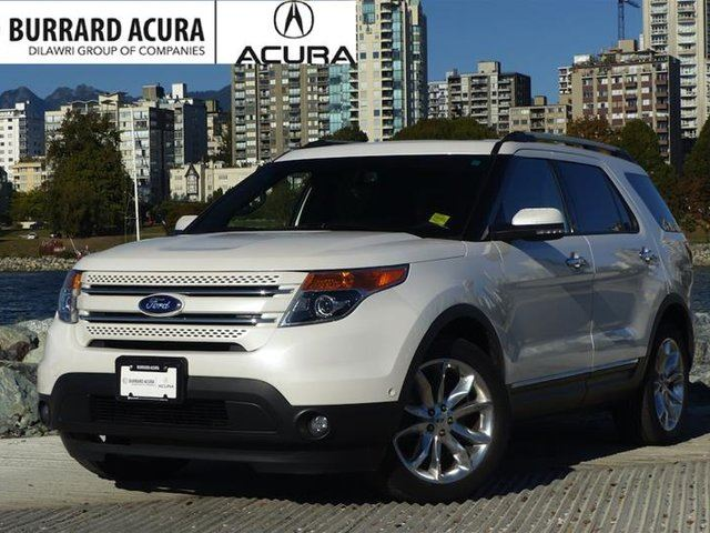 2013 FORD EXPLORER Limited 4D Utility V6 4WD in Vancouver, British Columbia