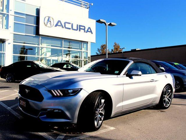 2015 FORD MUSTANG Convertible Ecoboost Premium in Langley, British Columbia