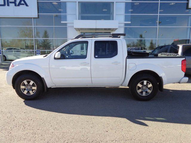 2012 NISSAN FRONTIER PRO-4X, LEATHER, SUNROOF in Red Deer, Alberta