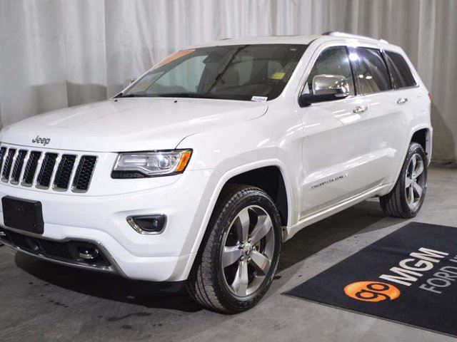 2014 JEEP GRAND CHEROKEE Overland in Red Deer, Alberta