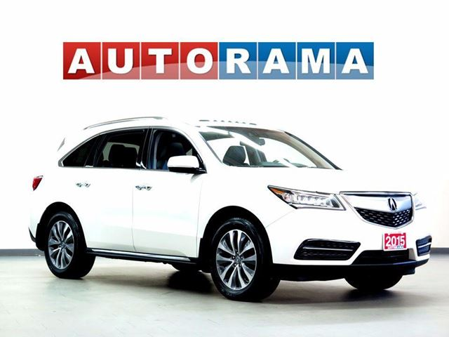 2015 ACURA MDX TECH PKG NAVIGATION LEATHER SUNROOF 4WD 7 PASS in North York, Ontario