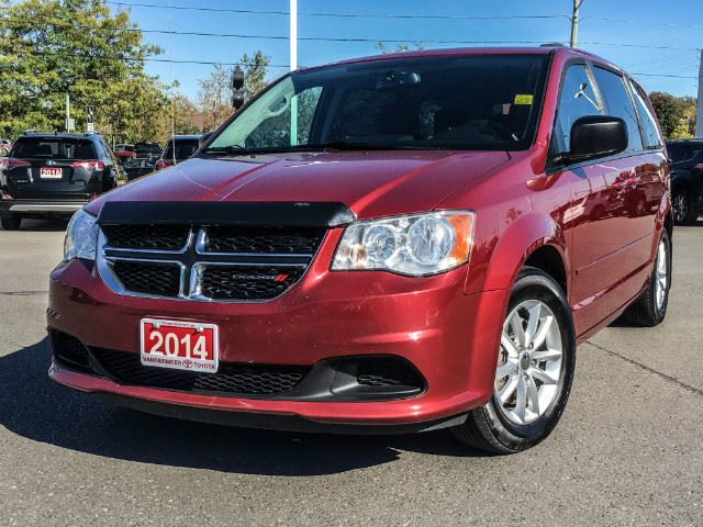 2014 DODGE GRAND CARAVAN   SXT-DVD PLAYER! in Cobourg, Ontario