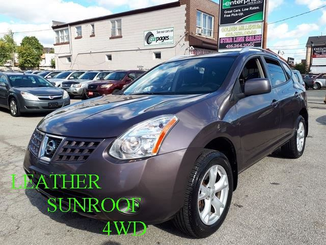 2009 NISSAN ROGUE SL/LEATHER/SUNROOF/4WD in Scarborough, Ontario