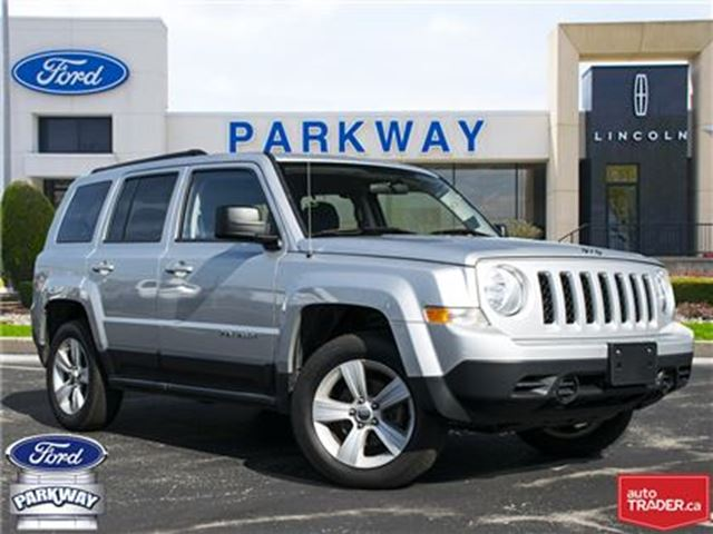 2011 JEEP PATRIOT North 4WD  ACCIDENT FREE  $160 BIWEEKLY $0 DOWN! in Waterloo, Ontario