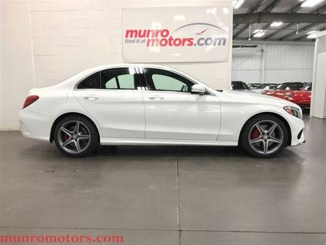 2015 MERCEDES-BENZ C-CLASS C300 4MATIC DESIGNO AMG Sport Panorama Roof in St George Brant, Ontario