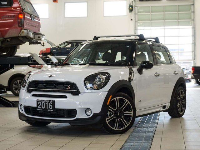 2016 MINI COOPER Countryman Countryman John Cooper Works ALL4 in Kelowna, British Columbia